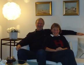 Hanne Marie & Palle Bjørn Rasmussen, Cavalaire sur Mer