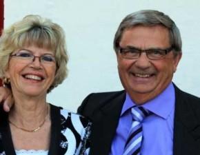 Ingrid og Folke Larsen, Frejus.