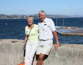 Lili og Erik Elgaard, Port Frejus.