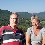 Doris Hviid og Jesper Jensen København, Bagnols en Fôret