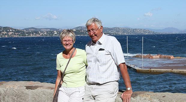 Lili og Erik Elgaard, Port Frejus. - Ejendomsmægler Jens Pedersen Ejendomsmægler Jens Pedersen